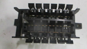 82 92 camaro iroc z z28 rs under dash fuse box adapter junction box rh ebay com 2018 IROC-Z 1990 IROC-Z