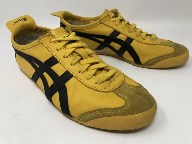 Testificar Enriquecimiento soporte  Asics Onitsuka Tiger D508n 5990 Mexico 66 Gold Black Bruce Lee Sz 9.5 for  sale online | eBay