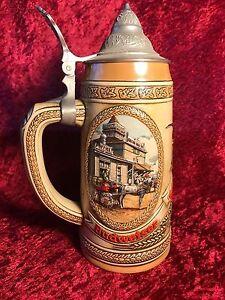 Anheuser-Busch-Budweiser-034-G-034-Series-Lidded-Beer-Stein