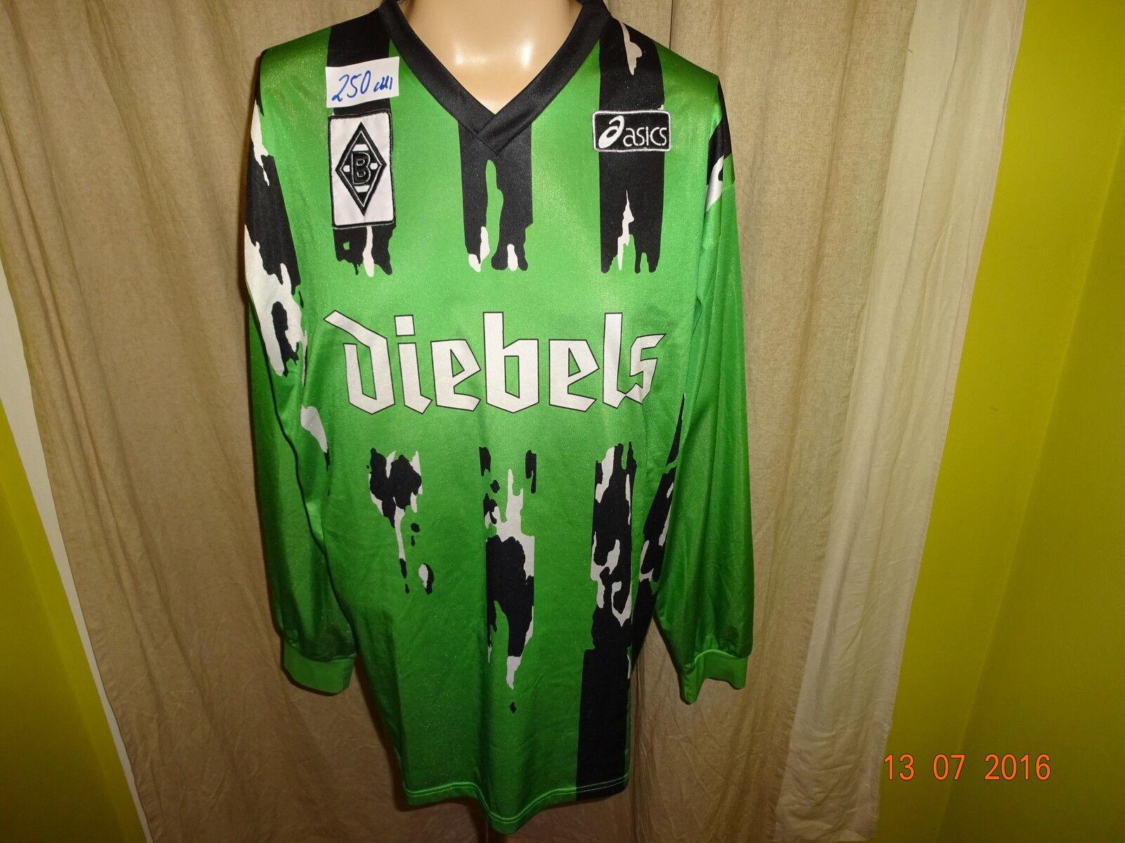 Borussia Mönchengladbach asics Langarm Auswärts Trikot 1994/95