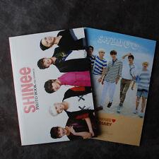 K-POP SHINEE MINI PHOTOBOOK 64P + SHINEE PHOTO MONTHLY DIARY 64P