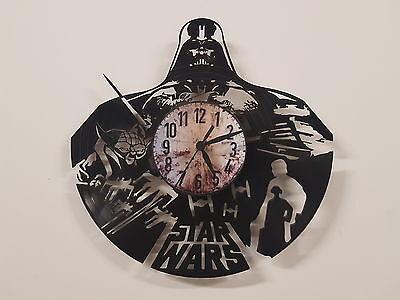 Star Wars Darth Vader Vinyl Record Clock home decor gift