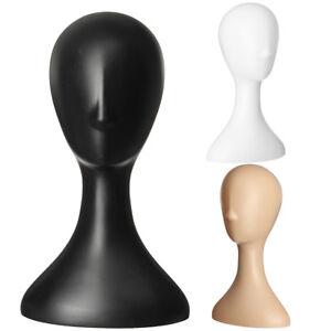 Plastic-Female-Mannequin-Wig-Hair-Hat-Scarf-Manikin-Head-Model-Display-Stand