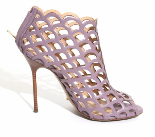 Alto Donna boots cage Tacco leather Rossi Sergio Ankle Lilac Mermaid Décolleté qACAx0