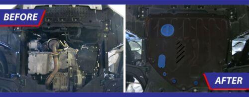 GEARBOX GUARD SKID PLATE UNDERTRAY BLACK STEEL SUZUKI VITARA 2015-up ENGINE