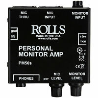 Rolls Pm50s Personal Monitor Amplifier on sale