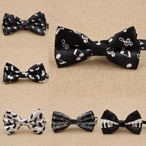 Gentlemens-Bowtie-Bow-Tie-Necktie-Accessories-Novelty-for-Wedding-Fashion-New