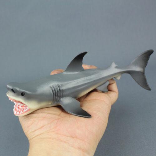 Prehistoric Megalodon Shark Ocean Education Animals Figure Toy Model Kids Gift