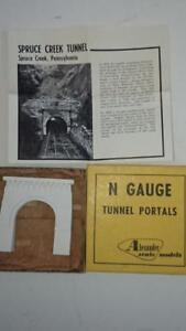 Alexander-Scale-Models-N-Gauge-Tunnel-Portal-Spruce-Creek-Tunnel-1-Piece