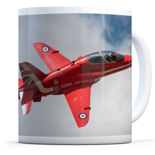 Red Arrows Aeroplane Drinks Mug Cup Kitchen Birthday Office Fun Gift#14551