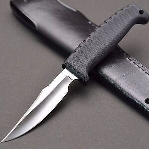 B-amp-T-KNIFE-ATS-34-Knife-039-WICKY-BIRD-amp-TROUT-RUBBER-L-039-G-SAKAI-in-SEKI-JAPAN