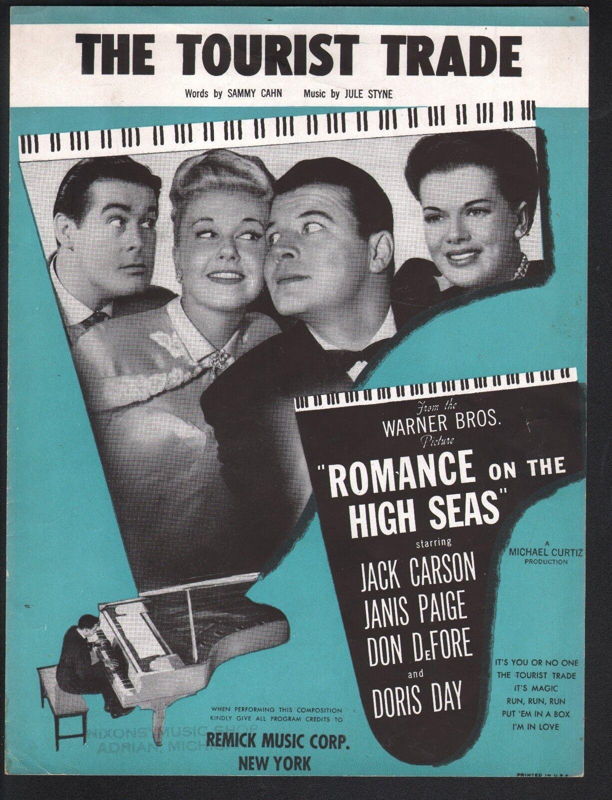 The Tourist Trade 1948 Doris Day Romance On The High Seas