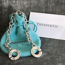 Tiffany 1837 T&CO Circle Clasp Toggle Bracelet