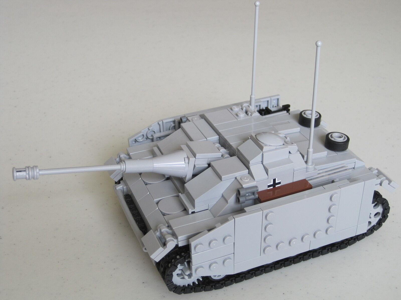 Lego WW2 GERMAN StuG III ausf. G ArmGoldt TANK Artillery NEW