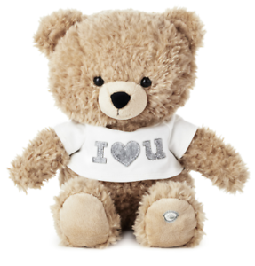 Hallmark-Valentine-I-Love-You-Bear-Singing-with-Motion-Plush-New-with-Tag