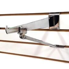 Slatwall Bracket Support Arm For 12 14 Deep Shelf Brackets Chrome Wholesale