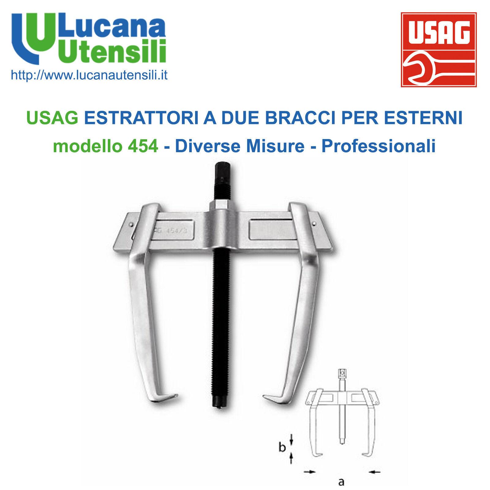 USAG ESTRATTORI a DUE BRACCI per ESTERNI modello 454 Diverse Misure Professional