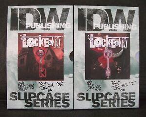 LOCKE & KEY Joe Hill 2 x SLIPCASED SIGNED x 4 1st Print SET 1-6 Rodriguez RARE