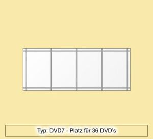Dvd Regal Aus Acryl Plexiglas Fur 36 Dvd S Dvd7 Ebay