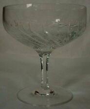 JOSAIR crystal MARIA pattern CHAMPAGNE /SHERBET Glass