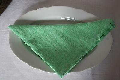 Leinen Serviette Sven 50x50 linnen wald grün gras Proflax Stoffserviette