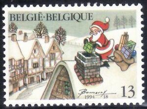SELLOS-NAVIDAD-BELGICA-1994-2581-PAPA-NOEL-1v