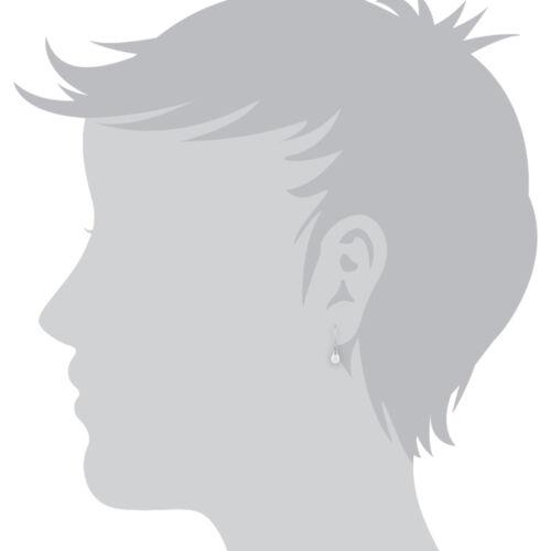 Gemondo 9ct White Gold 1.60ct Freshwater Pearl Drop Earrings