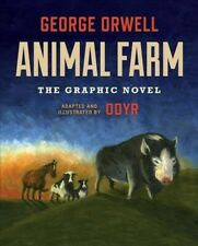 Animal Farm : The Graphic Novel by George Orwell (2019, Hardcover)