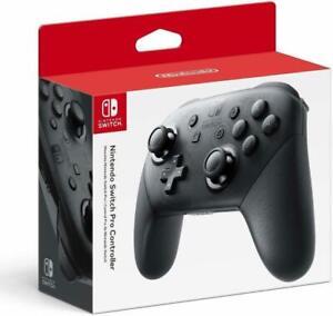 Nintendo Switch Pro Controller - Black - Brand New