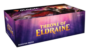 MAGIC-THE-GATHERING-THRONE-OF-ELDRAINE-ENGLISH-BOOSTER-BOX-SEALED