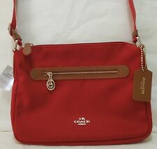 COACH Sawyer Crossbody, Shoulder Bag Purse F37239 Classic Red, Woman's Gift $195