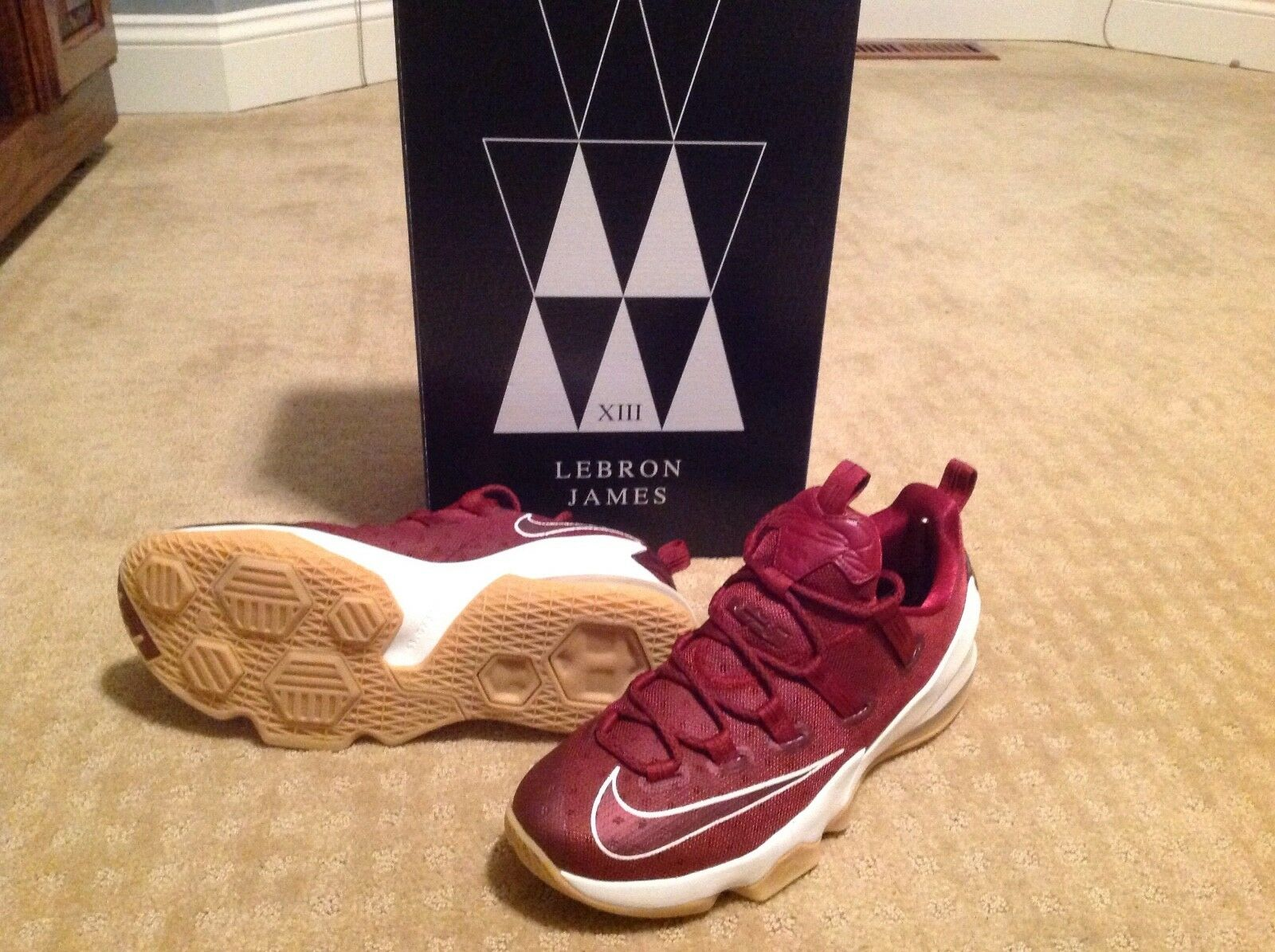 da81628aa2 Lebron Men's Low Cut Basketball shoes NIB James XIII ntrudb6508-Athletic  Shoes