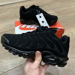 b8b49871a1 ... reduced image is loading nike air max plus tuned tn suede black 4e04b  7530d