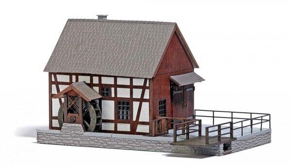 Casetta  Con Mulino H0 Scale 1 87 Diorama Model BUSCH  livraison gratuite