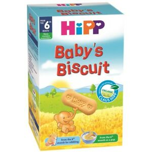 Hipp Organic Baby Biscuits Snacks 30 Cookies From 8 Months