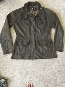 Barbour-Size-10-Wax-Jacket