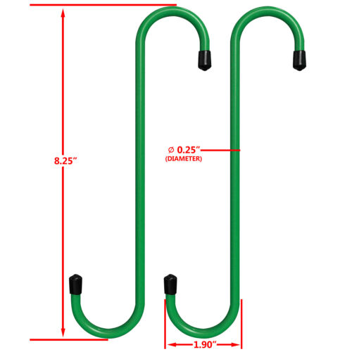 2Pcs Gallop Caliper Hanger Set Disc Axle Brake Bearing Caliper Repair Steel Hook