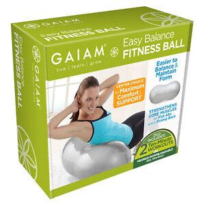 NEW-Gaiam-Easy-Balance-Fitness-Ball