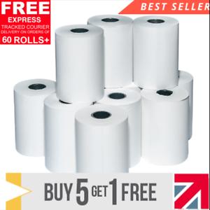 20 Rolls Thermal Paper Credit Card Machine Till Rolls 57x40mm Worldpay Ingenico