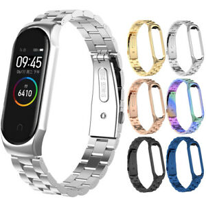 For-Xiaomi-Mi-Band-4-3-Wrist-Bracelet-Stainless-Steel-Smart-Watch-Band-Strap-NEW