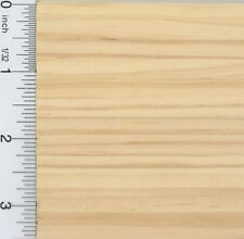 Dollhouse Miniature 1:12 Scale Wood Flooring Sheet in Natural Wood (1/4 Inch ...