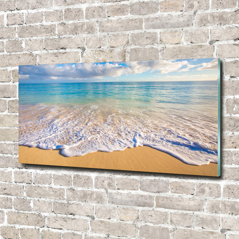 Acrylglas-Bild Wandbilder Druck 140x70 Deko Landschaften Hawaiian Strand