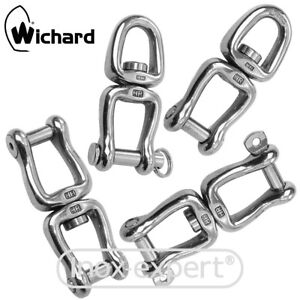 Wichard-Ankerwirbel-HR-Edelstahl-A4-Geschmiedet-Wirbelschakel-Ketten-Wirbel-V4A