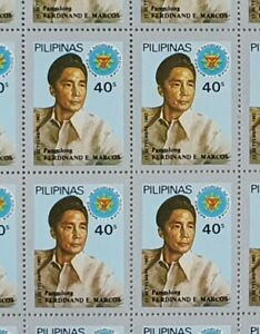 Hang-on-Wall-Philippines-Year-1982-Scott-1599-MNH-Sheet-of-50-Stamps