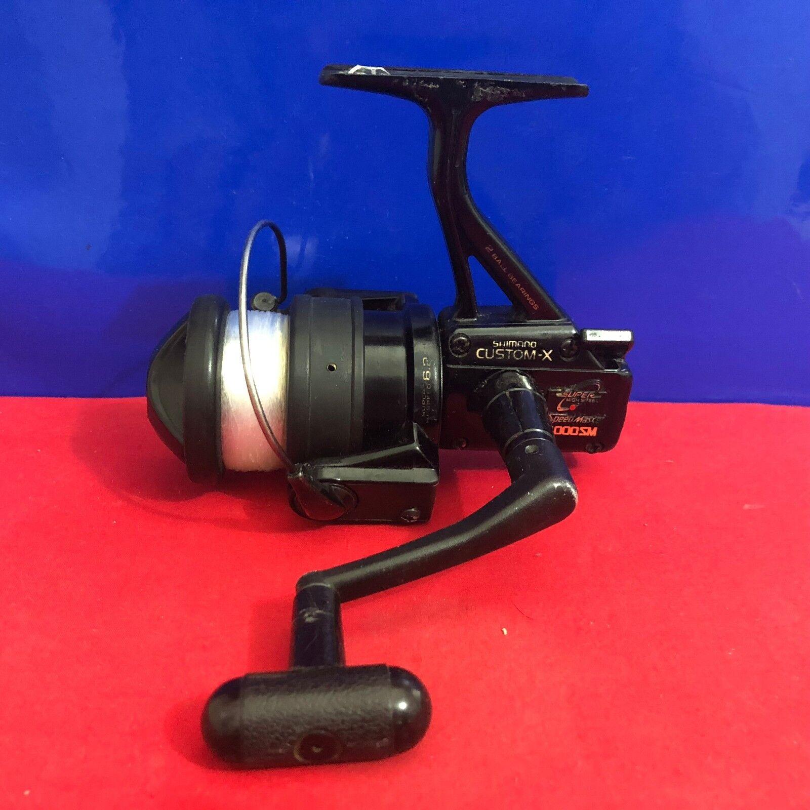 Shimano Personalizado-x velocidad Master 4000SM Spinning Reel De Pesca Z5