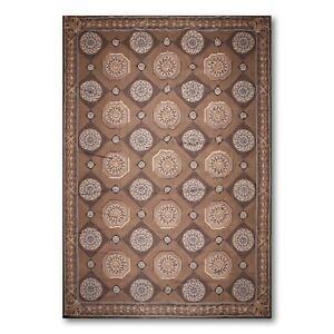10' x 15' Asmara Hand woven 100% Wool French Aubusson Oriental Area rug 10x15