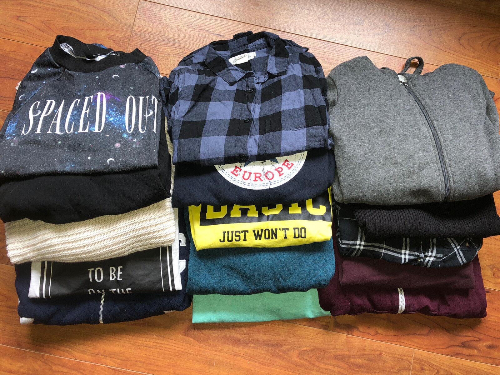 20 Teile Gr.S Bekleidungspaket Hoodie Pulli Sweater Strickjacke Schal Tasche H&M