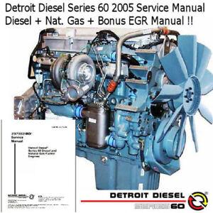 Image Is Loading Detroit Diesel Series 60 2005 Service Manual