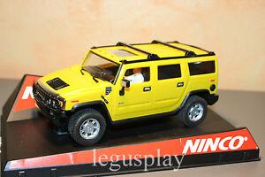 Scx-Scalextric-Slot-Ninco-50457-Hummer-H2-Yellow