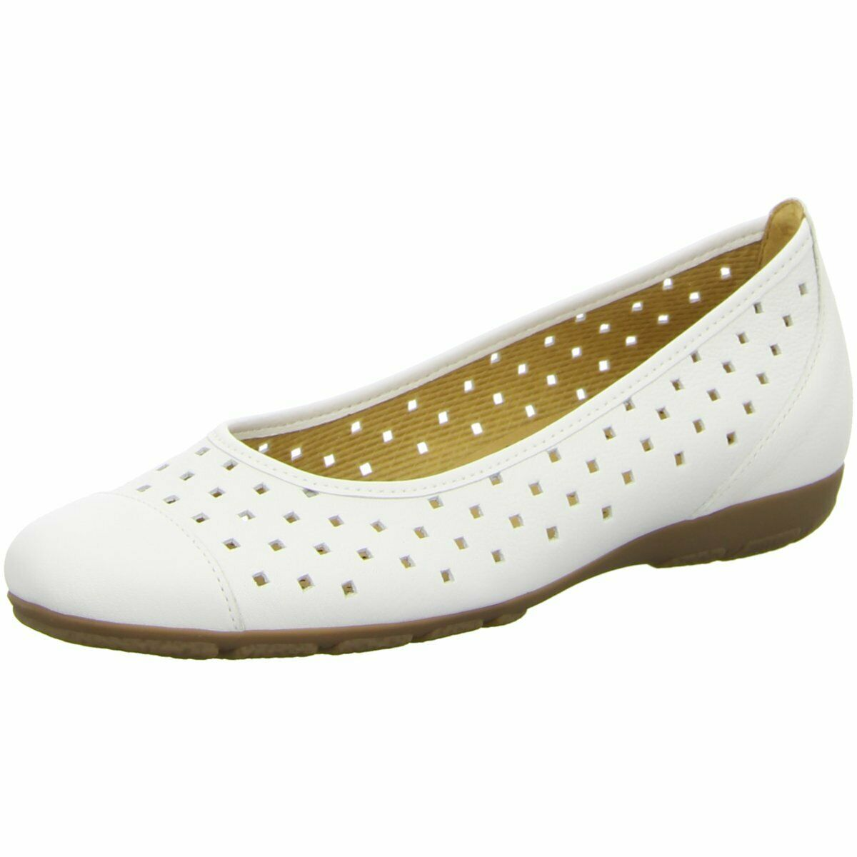 Gabor Damen Ballerinas NV 24.169-21 weiß 48607